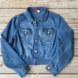 Divided by H&M Jean Jacket women's sz 10